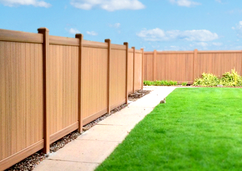 peak systems fence HOA grass sky