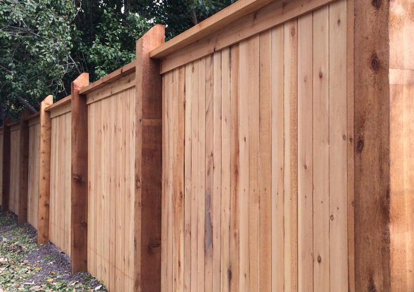 Residential privacy wood fence HOA