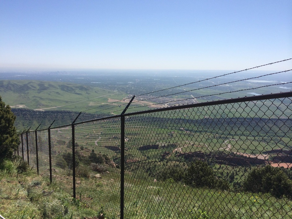 security chain link fence with barbed wire top agricultural commercial