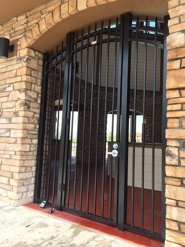 custom fabrication iron gate