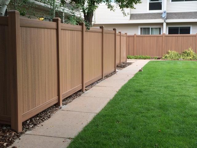 peak rail fence system HOA