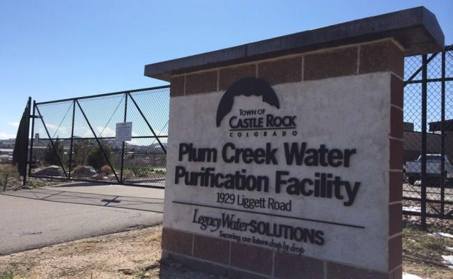 Plum-Creek-Waste-Water-Treatment-Plant-Castle-Rock-CO-sign