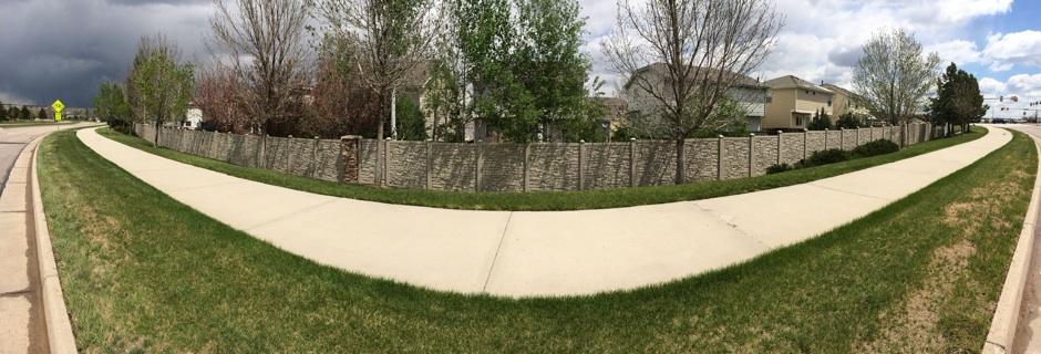 simtek fence system HOA