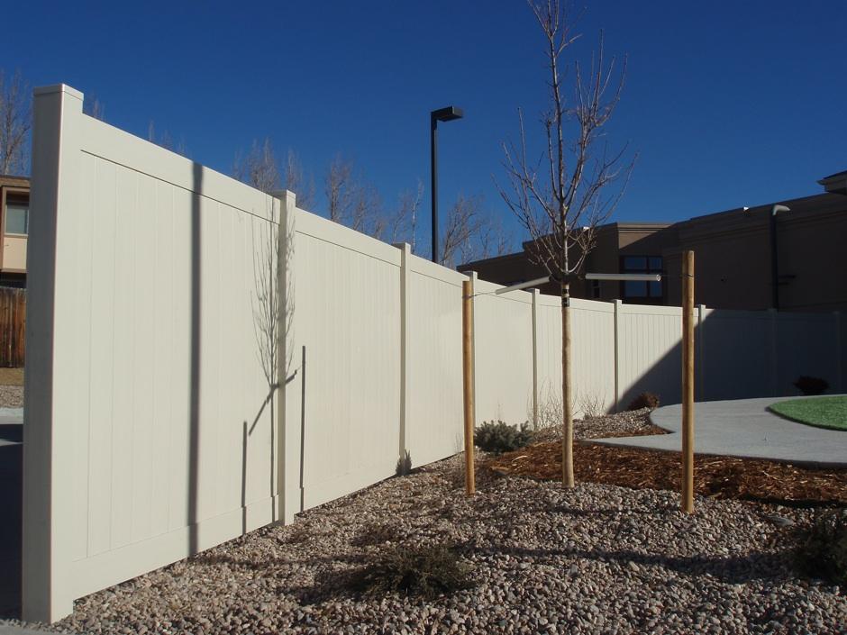 residential plastic fence HOA