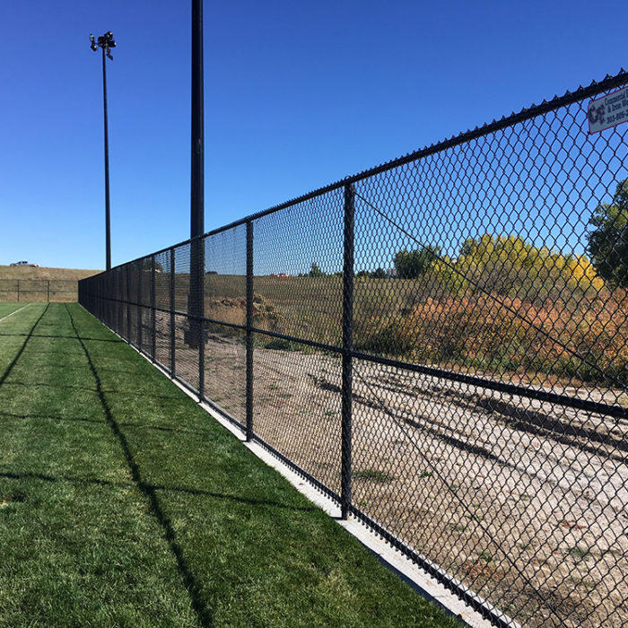 chain link sports fence at West Fields at Highland Heritage Regional Park