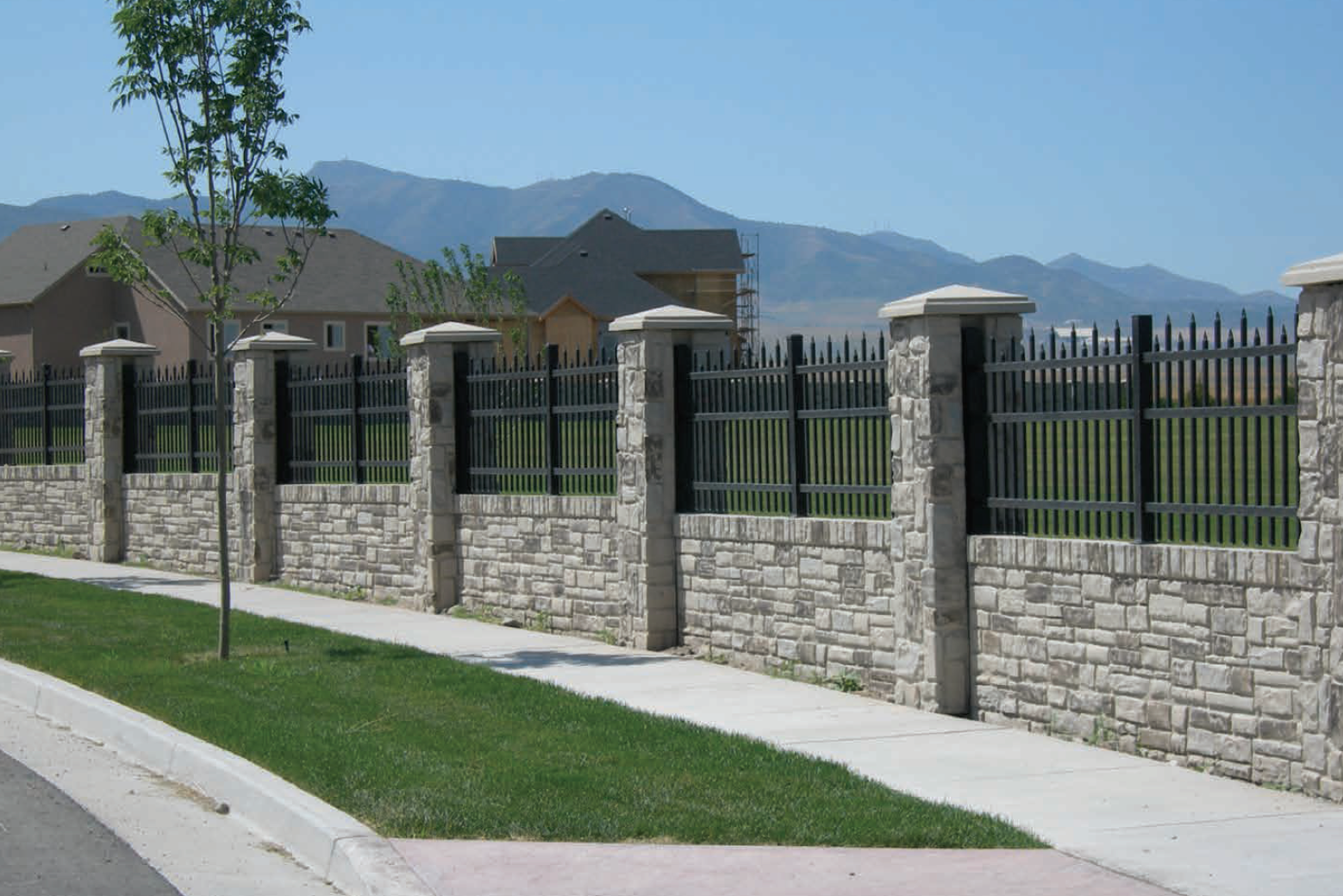 Verti-Crete Precast Commercial Fence and Iron Works